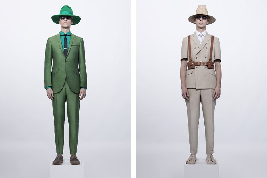 Image of Ozwald Boateng 2012 Spring/Summer Preview