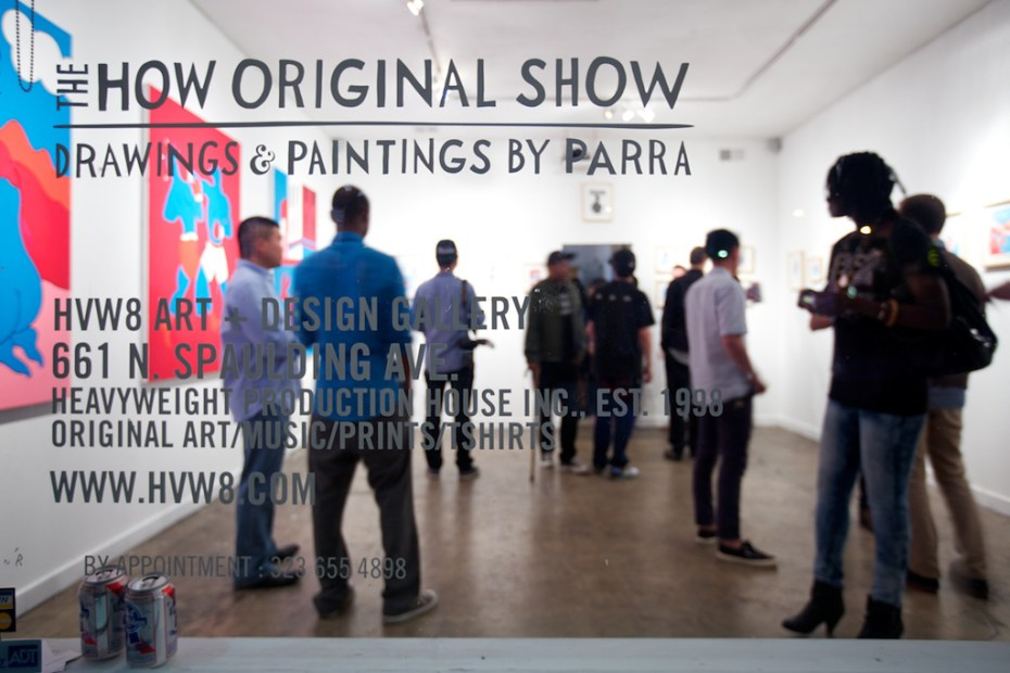 "Image of Parra ""The How Original Show"" @ HVW8 Recap"