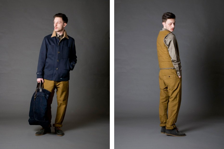 "Image of Bleu de Paname 2011 Fall/Winter ""Excursionnisme"" Collection"