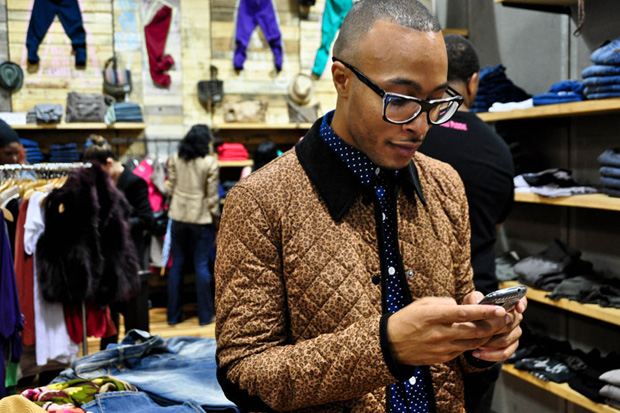 Image of Streetsnaps: Quilted Leopard