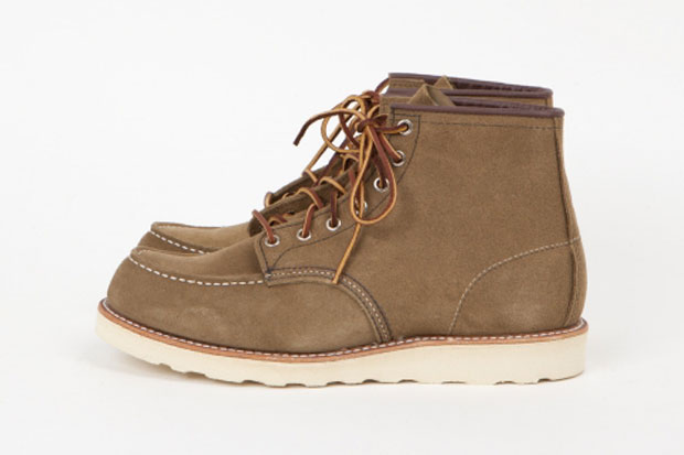 """Image of Red Wing Shoes 6"""" Moc Olive Mohave Boots"""