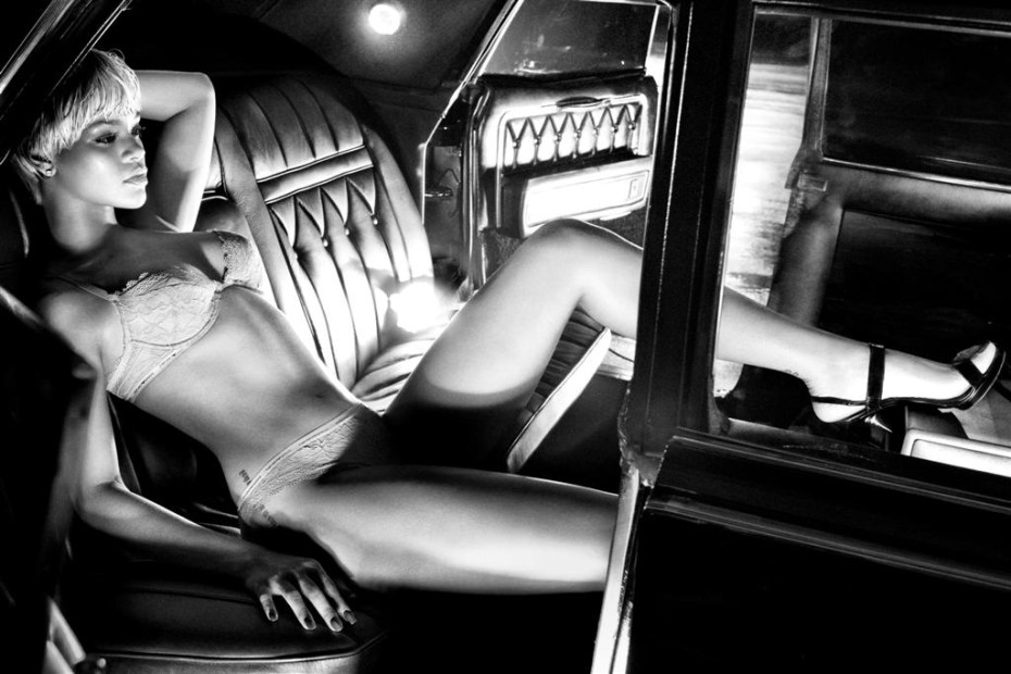 Image of Rihanna for Emporio Armani 2011 Fall/Winter Campaign