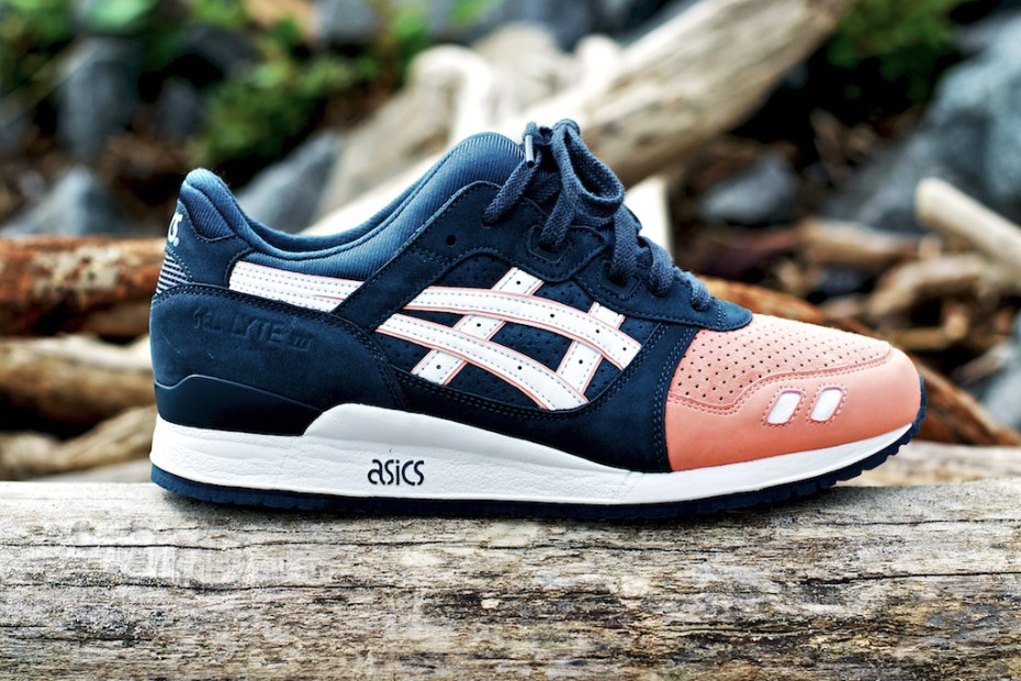 Image of Ronnie Fieg x ASICS Gel Lyte III &quot;Salmon Toe&quot;