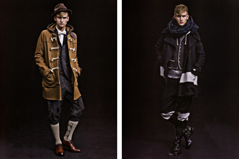 Image of SENSE Magazine: MIHARAYASUHIRO 2011 Fall/Winter Editorial
