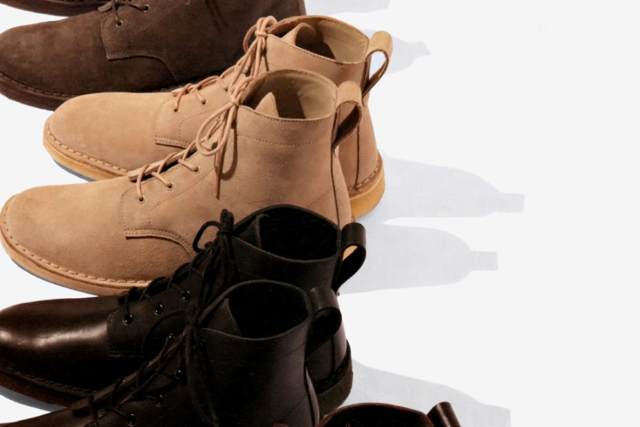 Image of Supreme x Clarks 2011 Winter Boots Collection