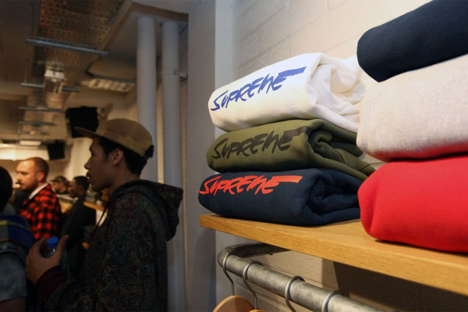 Image of Supreme London Store Opening Recap