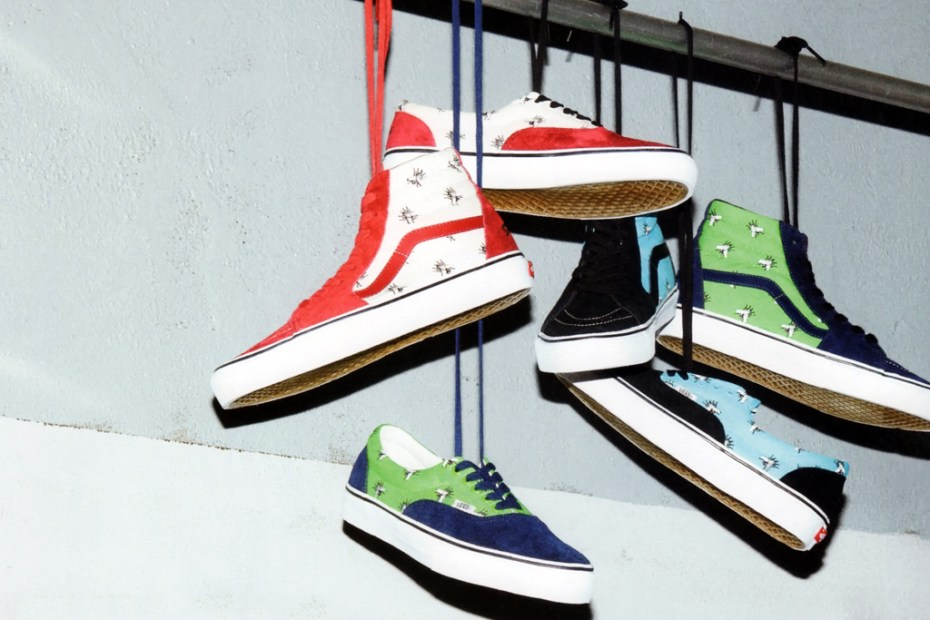 Image of Supreme x Vans 2011 Fall/Winter Footwear Collection Preview
