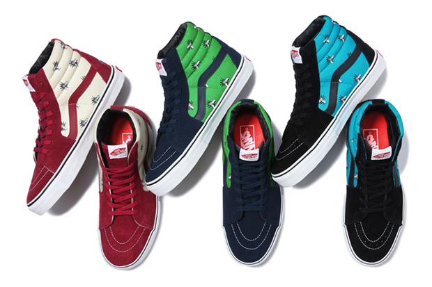 "Image of Supreme x Vans 2011 Fall/Winter ""Flies"" Pack"