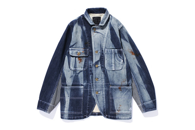 Image of SWAGGER BLACK PLATINUM -MASTER THE BASIC- WASHED DENIM COVER ALL Jacket
