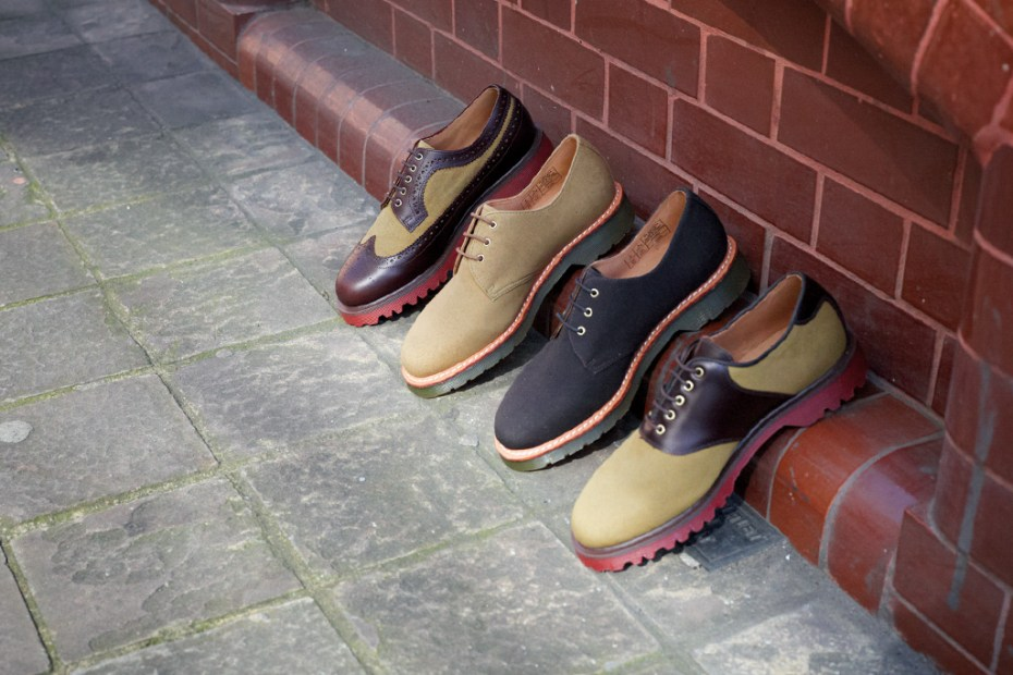 Image of The British Millerain Co. x Dr. Martens 2011 Fall/Winter Collection