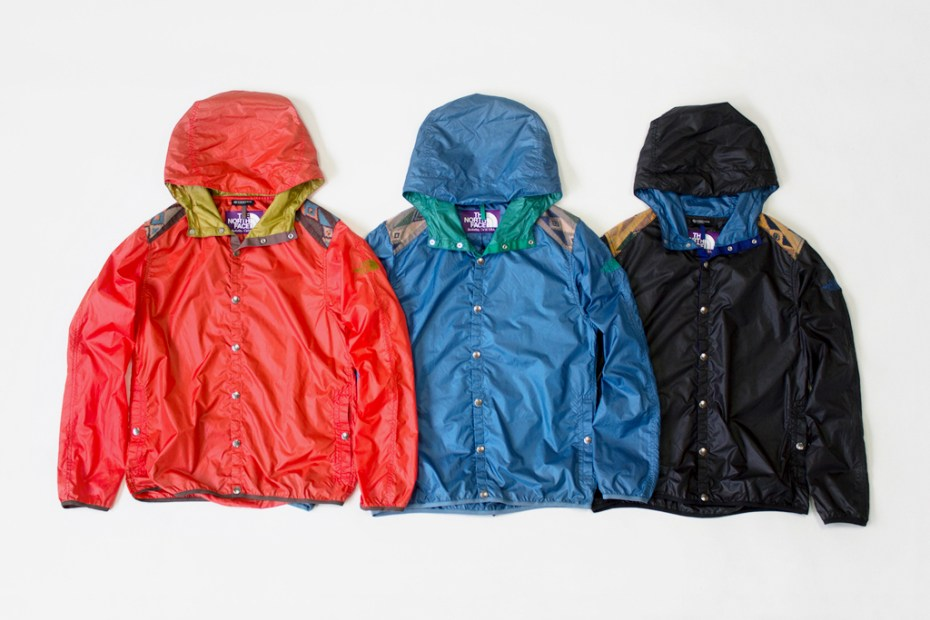 Image of THE NORTH FACE PURPLE LABEL 2011 Fall/Winter Mountain Wind Vest & Parka