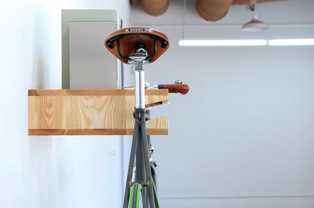 Image of The Original Bike Shelf by Knife & Saw