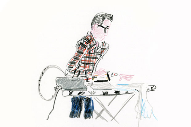 Image of The Unknown Hipster: An Ironing Class at colette
