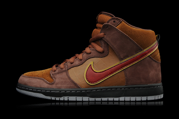 "Image of Todd Bratrud x SPoT x Nike SB Dunk High Premium ""The Cigar"""