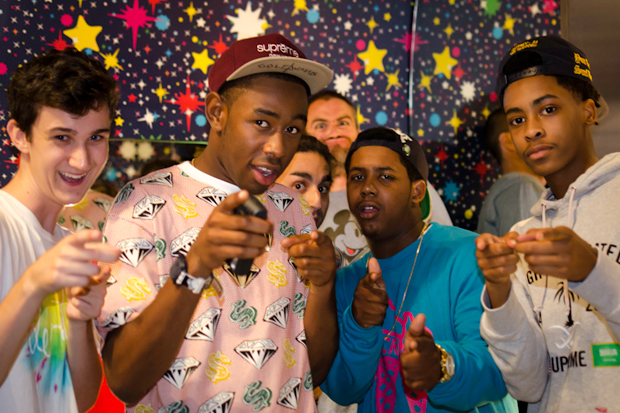 Image of Streetsnaps: Tyler, the Creator @ Billionaire Boys Club, Fashion's Night Out