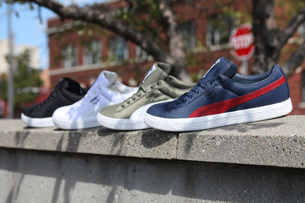 Image of Undefeated x PUMA Ripstop Clydes