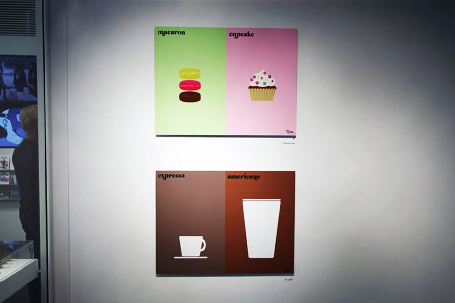 "Image of Vahram Muratyan ""Paris vs New York"" Exhibition @ colette"