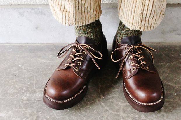 Image of Viberg Vintage Chromexcel Oxford