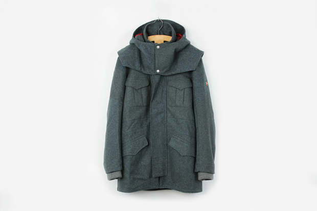 "Image of Victorinox x Christopher Raeburn ""Remade in Switzerland"" Captains Coat"