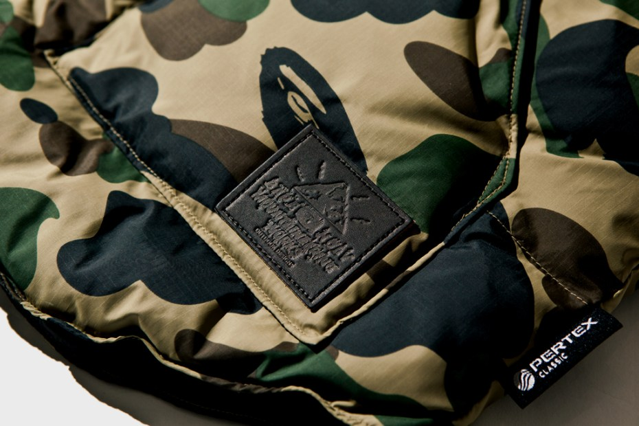 Image of A Bathing Ape 1ST CAMO DOWN VEST