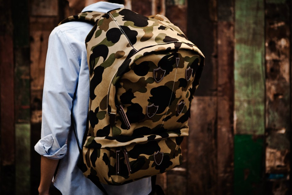 Image of A Bathing Ape 1ST CAMO MOUNTAIN BACKPACK