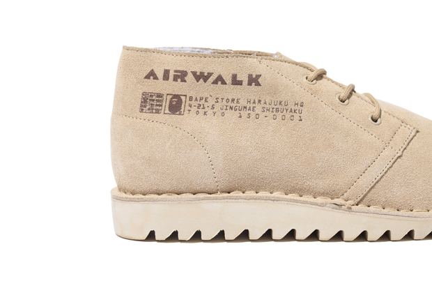 Image of A Bathing Ape x Airwalk Everest Boots Further Look