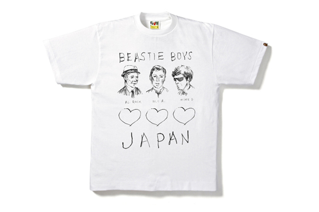 Image of A Bathing Ape x Beastie Boys Charity Tee