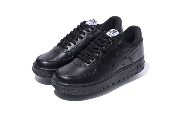 Image of A Bathing Ape GLASS LEATHER BAPE STA