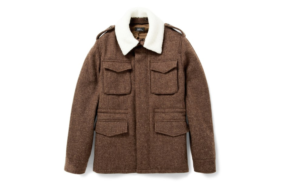 Image of A.P.C. Heavyweight Harris Tweed Jacket