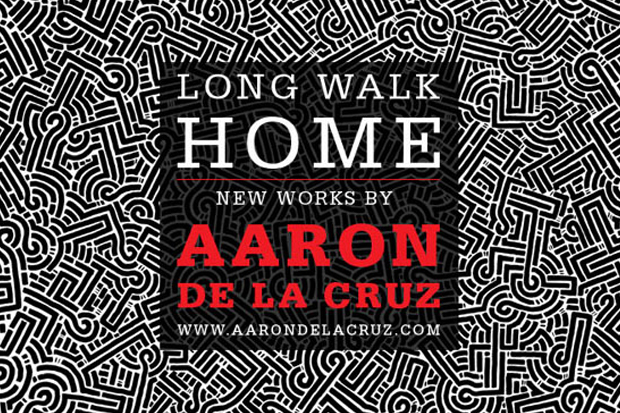 Image of Aaron De La Cruz &quot;Long Walk Home&quot; Exhibition @ Loft in Space