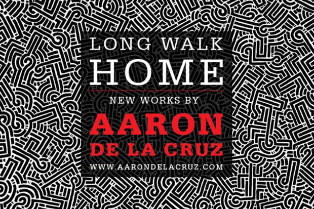 """Image of Aaron De La Cruz """"Long Walk Home"""" Exhibition @ Loft in Space"""