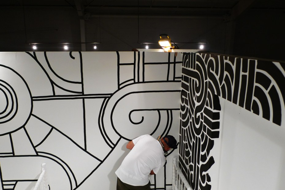 "Image of Aaron De La Cruz ""Long Walk Home"" Exhibition @ Loft in Space Recap"