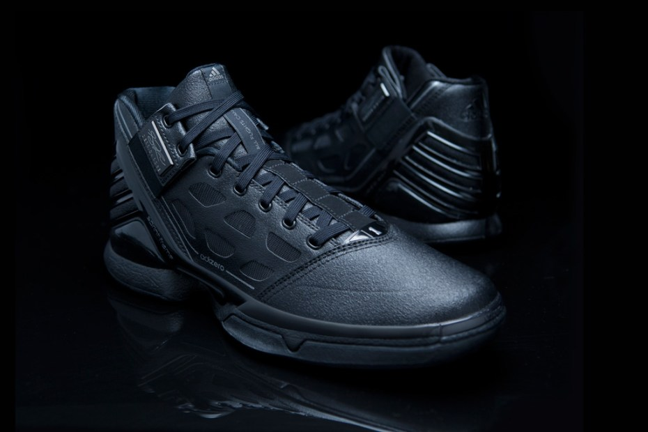 "Image of adidas adiZero Rose 2 ""Triple Black"""