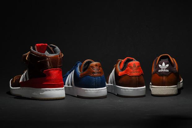 Image of adidas Originals Leather Pack