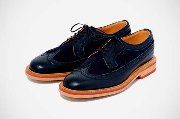Image of BAL x Sanders Long Wing Brogue
