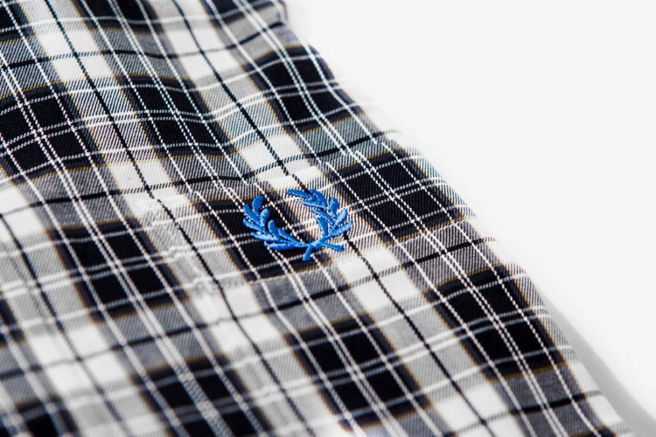 Image of BEAMS x Fred Perry 3/4 Length Shirts