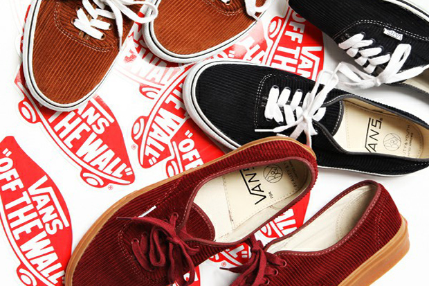 Image of Beauty & Youth x Vans Authentic Cord Pack