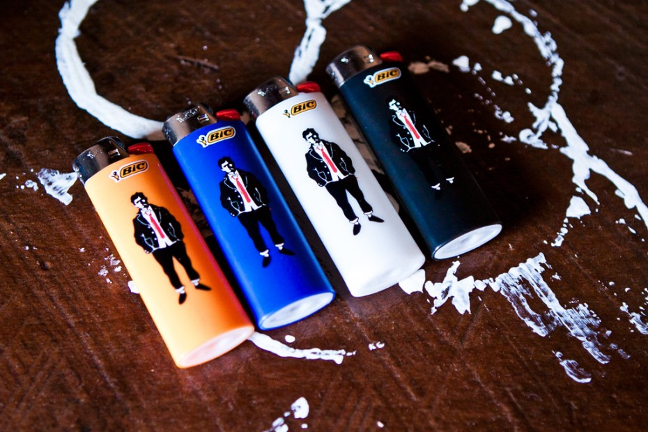 Image of BEDWIN & THE HEARTBREAKERS x BIC Lighter