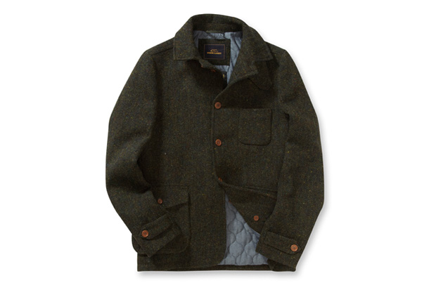 Image of Ben Sherman Modern Classics Harris Tweed Driving Jacket