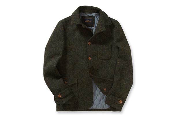 Image of Ben Sherman Modern Classics Harris Tweed Driving Jacket
