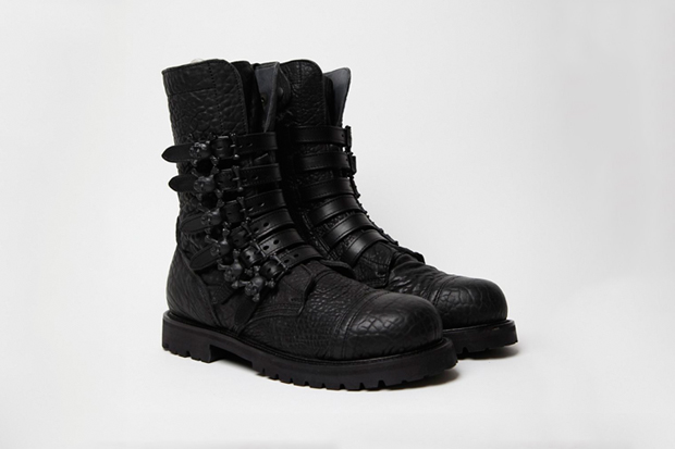Image of Bernhard Willhelm x Camper 2011 Fall/Winter Toðer Skull Boots