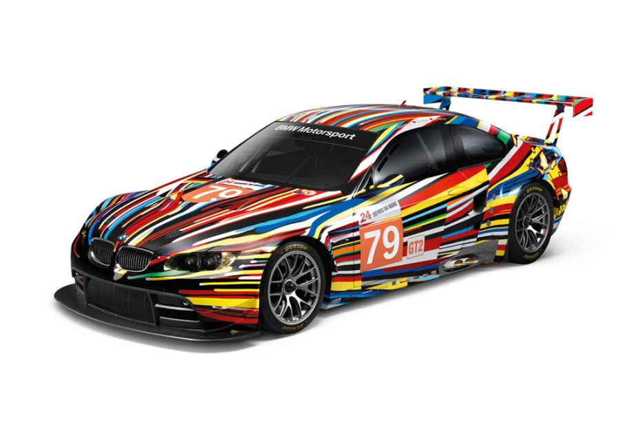 Image of BMW M3 GT2 by Jeff Koons 1:18 Art Car Model