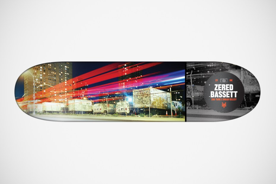 "Image of Brian Kelley for Zoo York ""The Streets of New York"" Skateboard Decks"