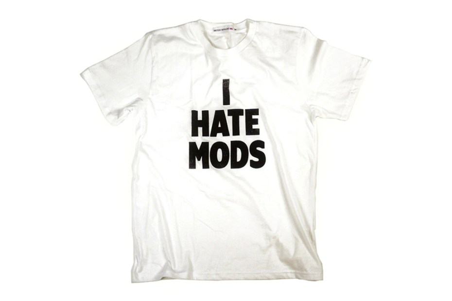 "Image of British Remains ""I HATE"" T-Shirt Collection"