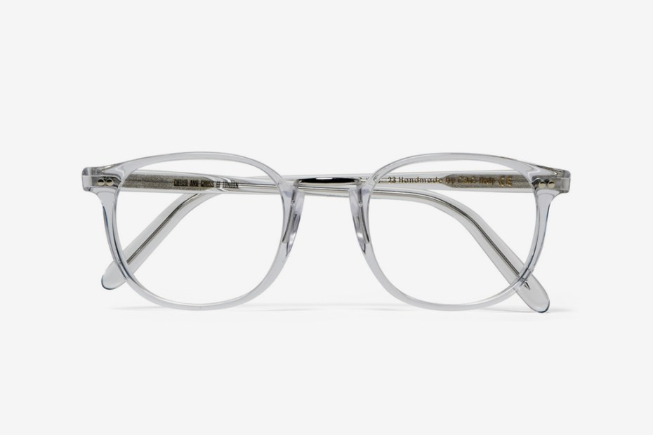 Image of Cutler & Gross Clear Optical Frames