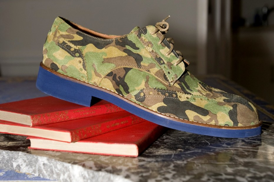 Image of Del Toro Camo Brogues