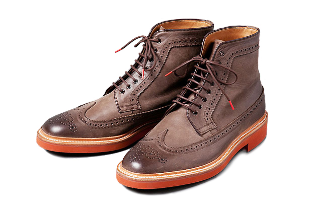 Image of Deluxe LUDE ROCKER Brogue Boot