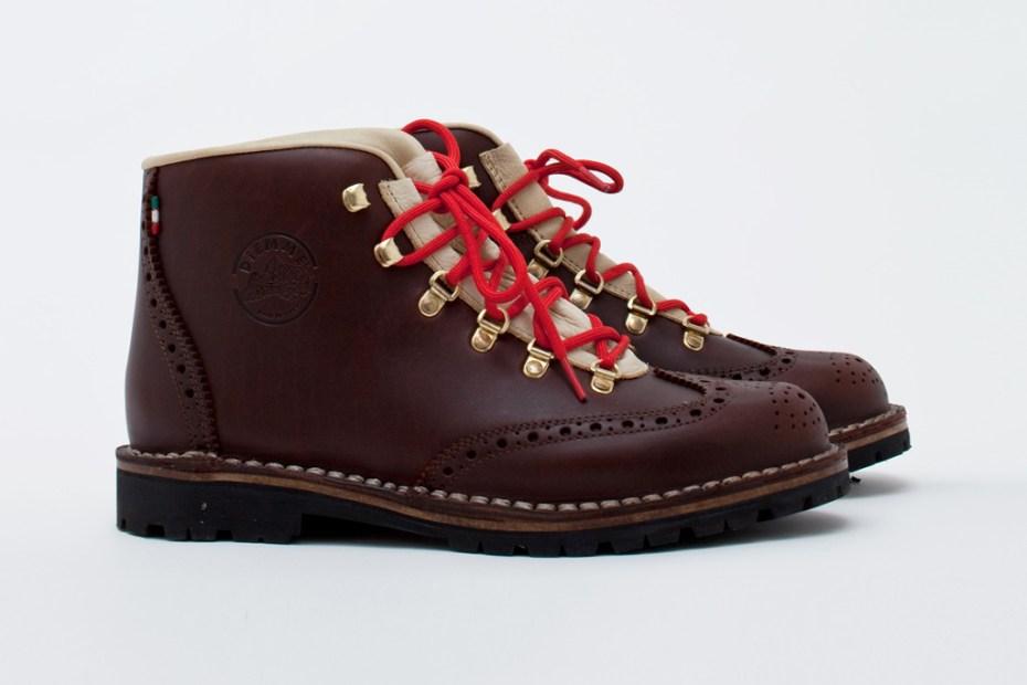 Image of Diemme New Tiroli Wing Grain Leather Boot
