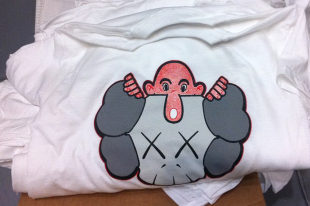 Image of Eric Elms x KAWS T-Shirt Preview