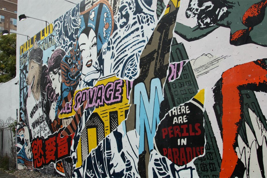 Image of Faile @ Bowery &amp; Houston NYC